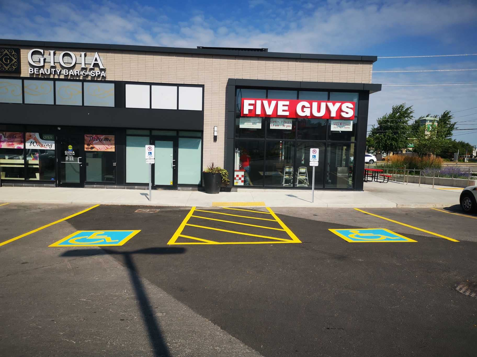 Kitchener Car Dealerships >> Commercial Line Painting - The Line Painters