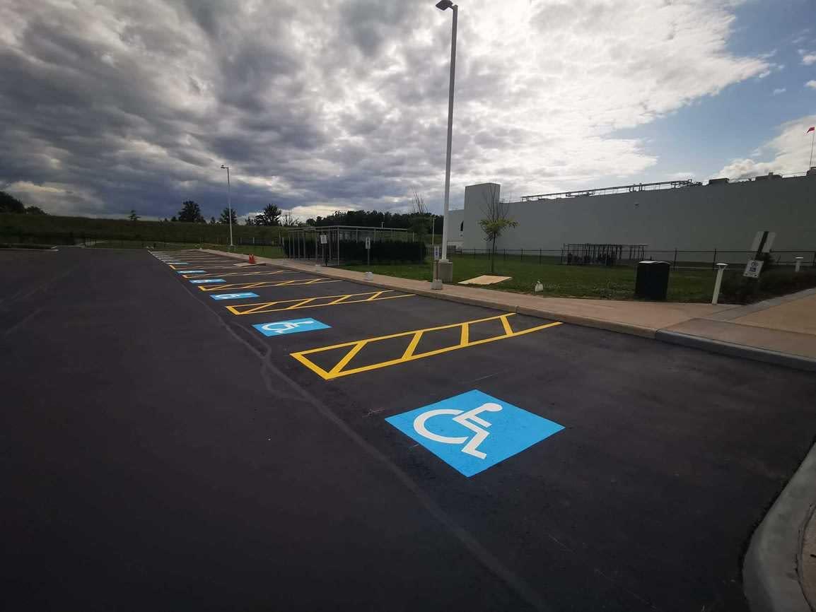 handicap parking spaces